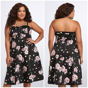 Torrid Strapless Dress